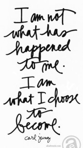 i am not what has happened