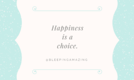 Choosing to Be Happy